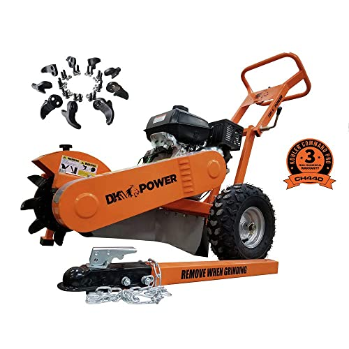 DK2 Power Stump Grinder 14HP HD Commercial Frame with Kohler Motor OPG777