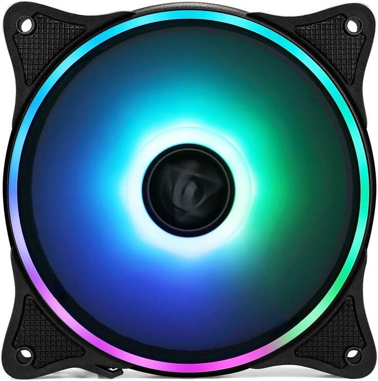 FormulaMod 120mm ARGB High Performance with Low Noise Water Cooling Case Fan CPU Fan Radiator Fan…