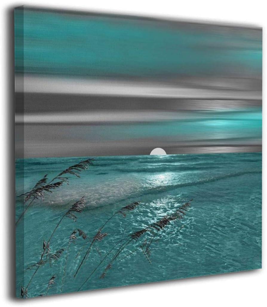 Ocean Canvas Art Ocean Painting Ocean Canvas Wall Art Ocean Painting Ocean Wall Art Ocean Print Ocean Wall Decor Ocean Poster Abstract Print