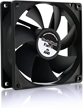 AAB Cooling Black Silent Fan 9: Amazon.es: Electrónica