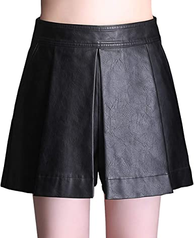 E-Girl FS625 Falda Club Mini Short Grande Cuero PU Negro 46 EU 4XL ...
