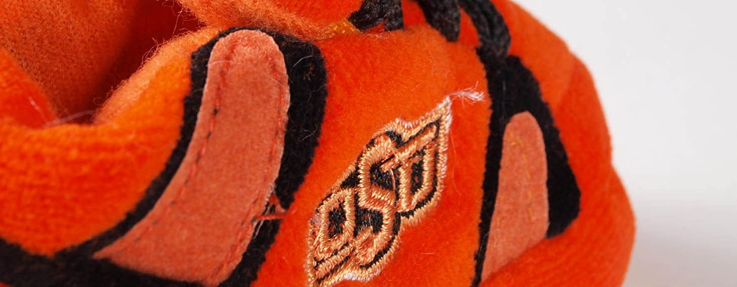 Happy Feet Mens and Womens Oklahoma State Cowboys NCAA Baby Slippers