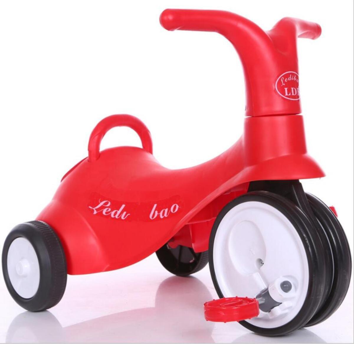 barato Triciclo para niños Scooter Dual-use Balance Balance Balance Car 1-3 años de edad + pedal de bebé Walker , 3  entrega rápida