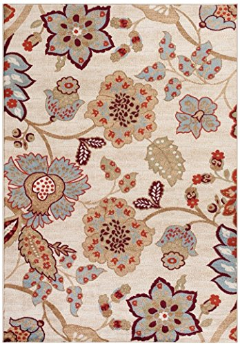 Ivory 710x102 Floral Area Oriental product image