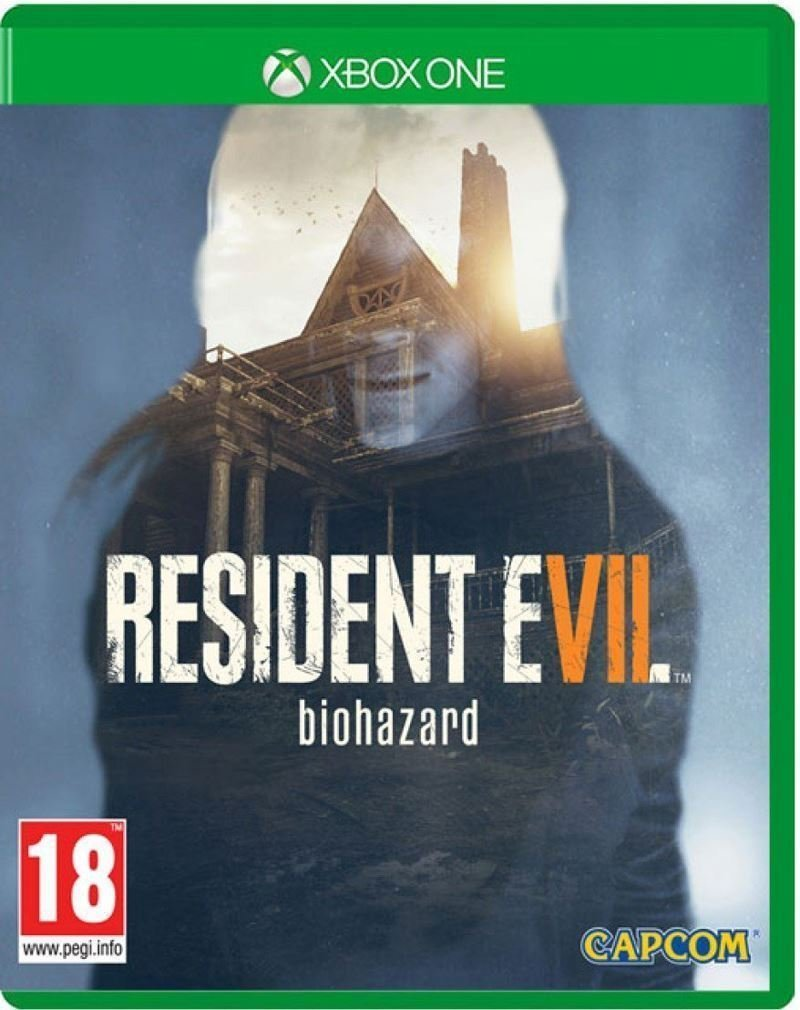 Xbox One Resident Evil VII 7 Biohazard - Lenticular Case PREOWNED ...