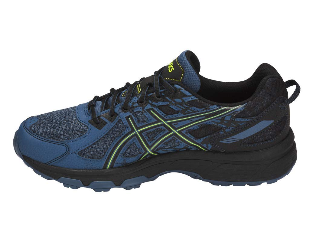 ASICS Gel-Venture 6 MX Men's Running Shoe, Grand Shark/Neon Lime, 7 M US by ASICS (Image #2)