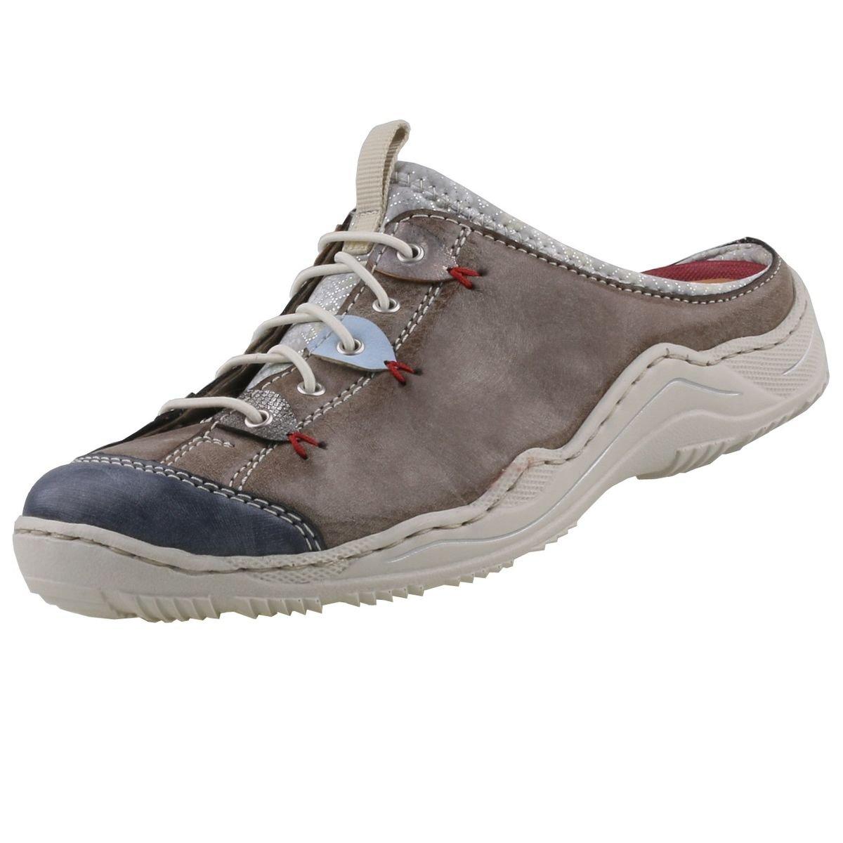 Rieker Mujeres Zapatos Abiertos Marrón, (Jeans/Cigar/altsilbe) L0588-14 39 EU|Jeans/Cigar/Altsilbe