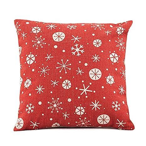 Nrpfell Decoracion de Navidad Funda de cojin para Sofa Cama ...