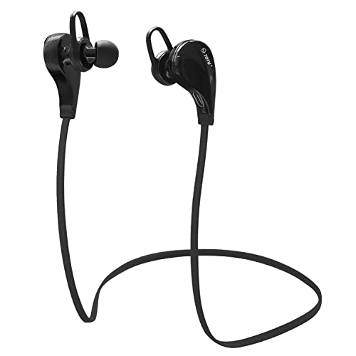 TOTU Bluetooth Headphones Wireless Bluetooth Sports Earphones Sweat proof In-ear Earbuds with Microphone for Running, Cycling, Gym, Travelling