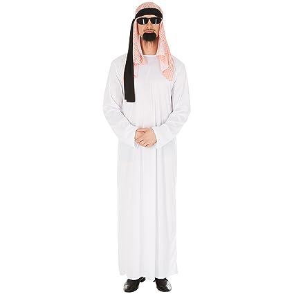 TecTake dressforfun Disfraz para Hombre Jeque Arabe | Capa ...