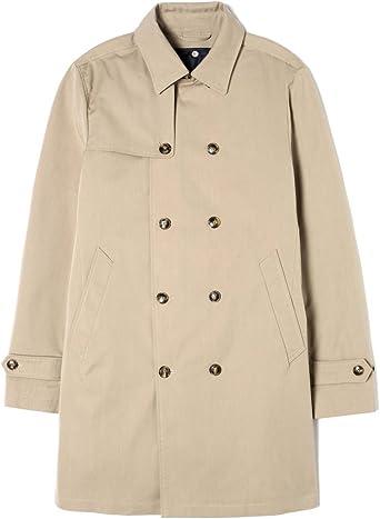 manteau benetton homme long