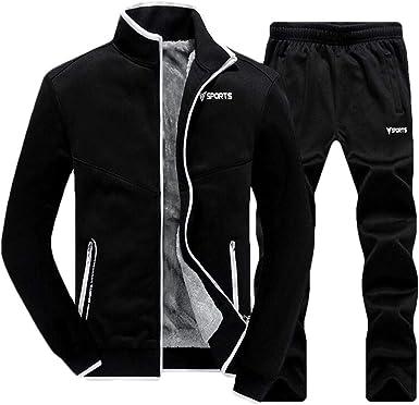 Nanquan Men Full-Zip Thicken Warm Coat Jacket Fleece Hoodies Sweatshirt