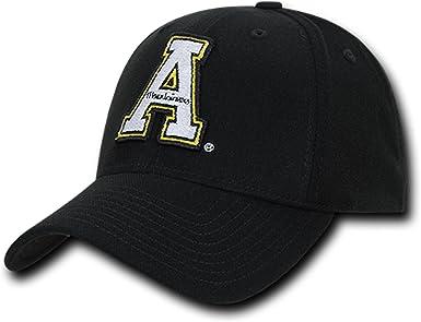 NCAA Appalachian State University Low Constructed Flex Acrylic Baseball Caps Hat