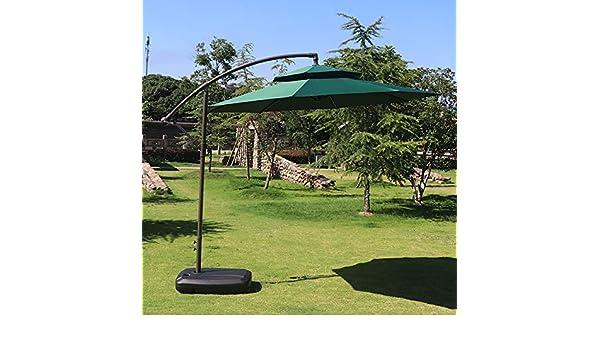Hcyai Excéntrica Parasol Garden sombrilla de Brazo Colgante de ...
