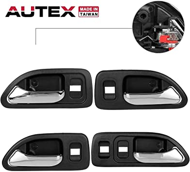 New Door Handle Front or Rear Driver Passenger Side Chrome RH LH Left Right