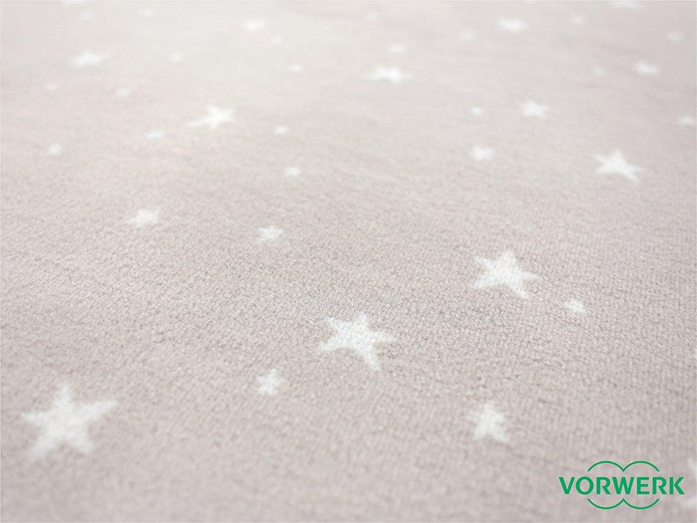 Vorwerk Bijou Stars grau Teppich     Kinderteppich   Spielteppich 150x200 cm Sonderotition B017UDZIS8 Teppiche & Matten 527e7a