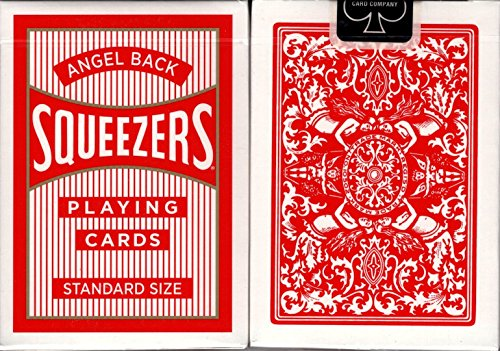 Squeezers Angel Back Playing Cards USPCC (Red)