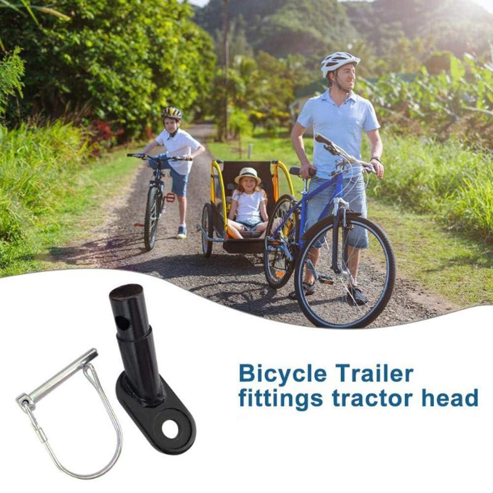 Kacniohen Trailer Bicicletta accoppiatore Bike Trailer Hitch Universal Connector Biciclette rimorchio Hitch accoppiatore Monte Attacco per Bambini Pet Cargo Bike rimorchi