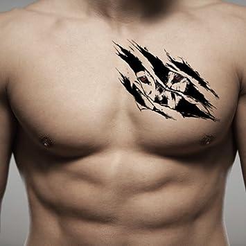 Tatuaje Temporal de Ojos de lobo (2 Piezas) - www.ohmytat.com ...