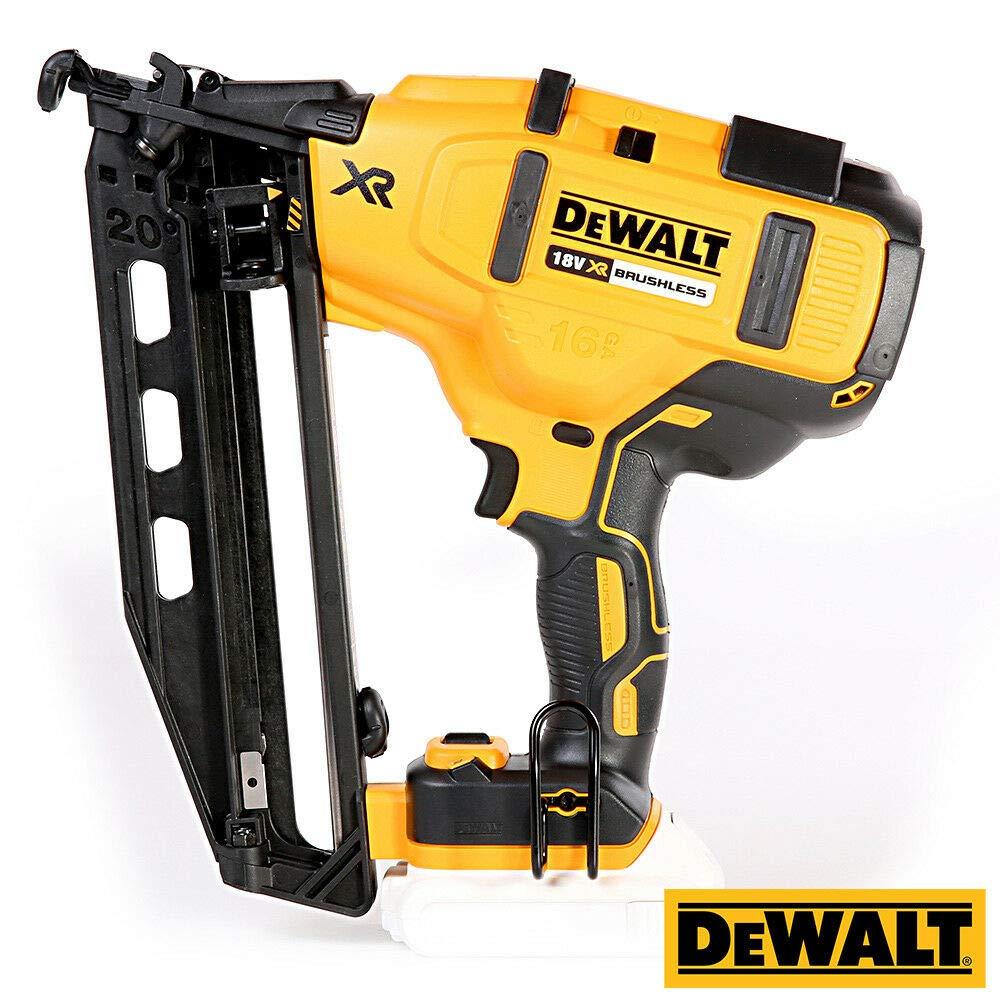 Dewalt DCN660 18V Brushless Second Fix Framing Nailer with 16 Tool Storage Box