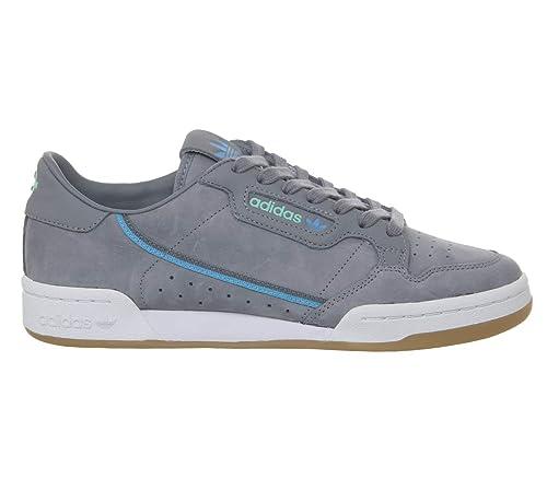 Adidas Originals X Tfl Continental 80 Hombre Zapatillas Gris: Amazon.es: Zapatos y complementos