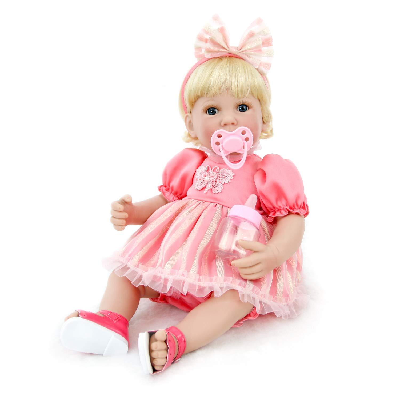Amazon.es: Pursue Baby Hermosa muñeca niña renacida 16 ...