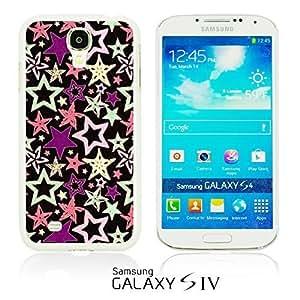 OnlineBestDigitalTM - Funny Pattern Hardback Case for Samsung Galaxy S4 IV I9500 / I9505 - Stars