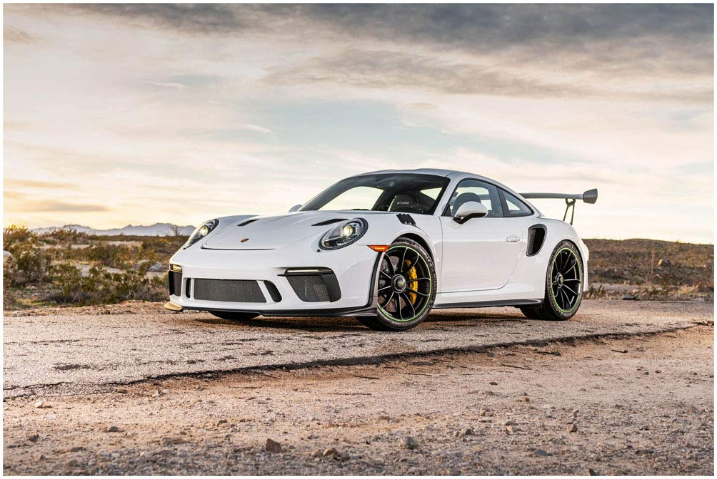 Amazon.com Porsche 911 GT3 RS (2019) Car Art Poster Print