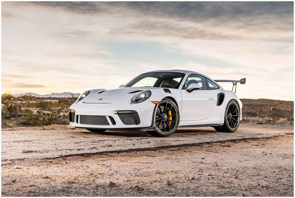 Amazon.com Porsche 911 GT3 RS (2019) Car Art Poster Print
