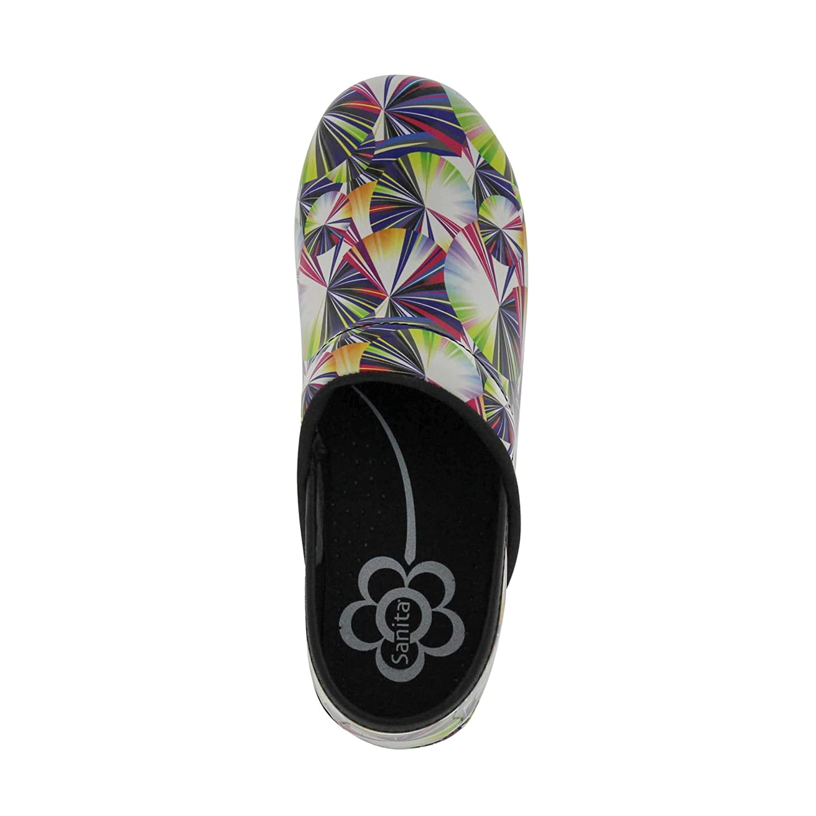 Sanita Women's Original Pro. Geo Clog 459156 Multi - 6