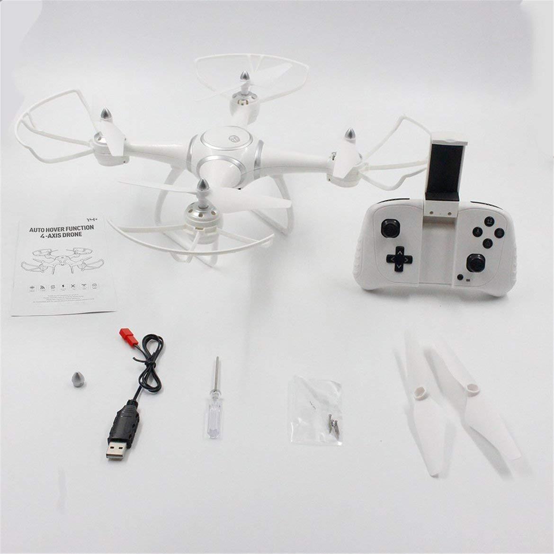 Harlls S7W Smart Selfie RC Quadrocopter Drohnenflugzeug mit WiFi FPV FPV FPV 0.3MP HD Echtzeitkamera Höhenstand 3D-Flips - Weiß 9a3fbc
