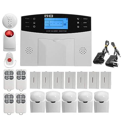 MXXTL Alarma, gsm y SMS. Wireless Home Sistema de Alarma de ...