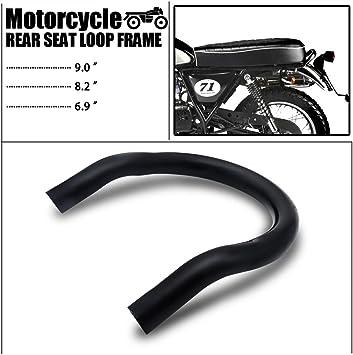 230mm Universal Motorcycle Rear Seat Loop Frame Hoop Mounting Bracket Aramox Motorcycle Seat Hoop