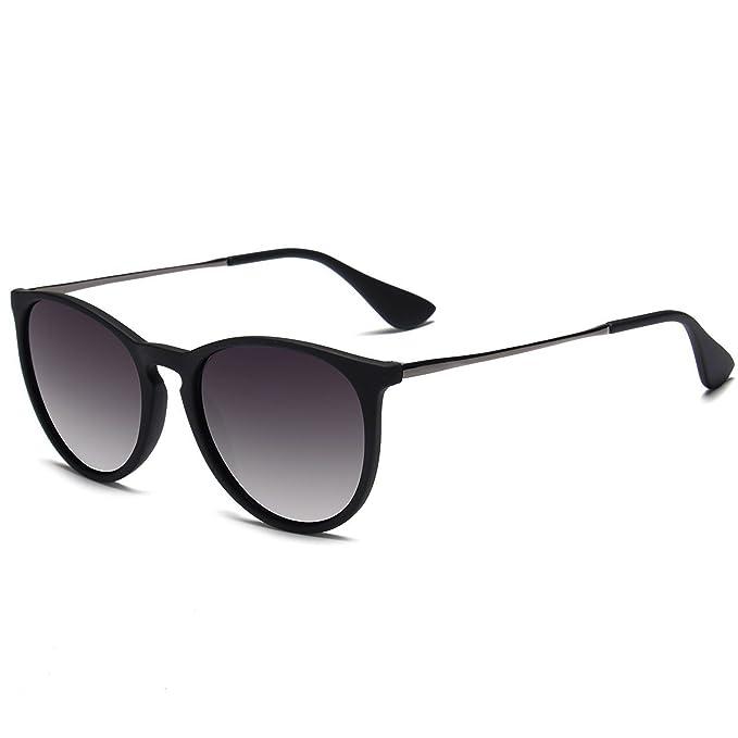 Amazon.com: giudice Vintage polarizadas negro anteojos de ...