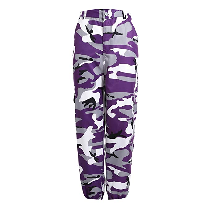 a394730717585 Shocked Tomato Women High Waist Camouflage Pants Pantalon Femme Trouser Plus  Size 3XL,Lavender,XL,China: Amazon.ca: Clothing & Accessories