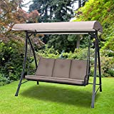 Garden Winds Four Seasons Courtyard Swing Replacement Canopy Top Cover