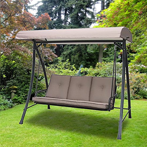Garden Winds Four Seasons Courtyard Swing Replacement Canopy Top Cover by Garden Winds