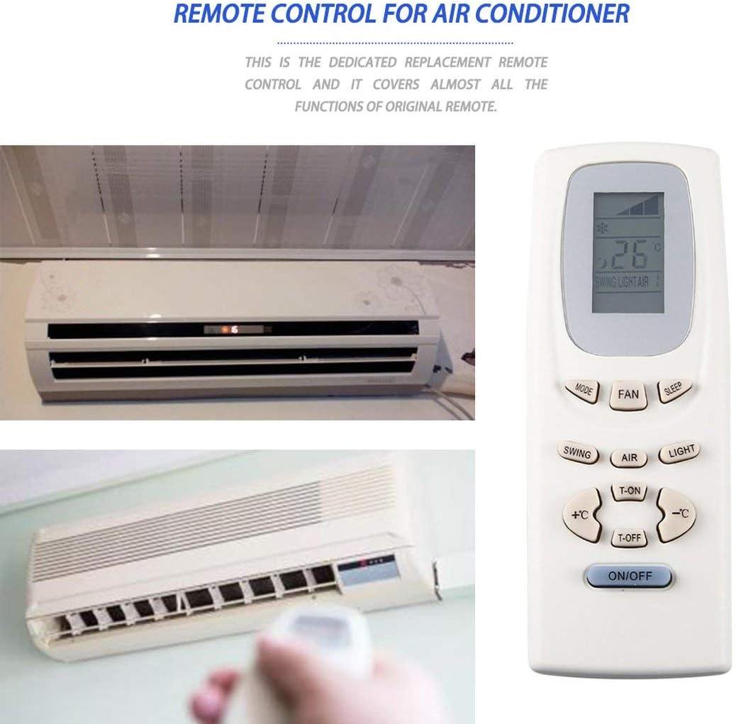 zhouweiwei Sostituzione Telecomando Universale condizionatore dAria per Gree Y512F2 Y512F Y512 Y502K KTGL002 Regolatore Condizioni Aria