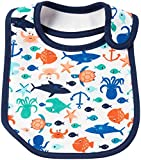 Carter's Carter's Baby Boys Teether Bibs 126g632, Ivory, One Size
