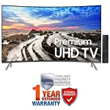 Samsung UN55MU8500FXZA 54.6″ Curved 4K Ultra HD Smart LED TV (2017