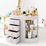 Makeup Organizer Clear Cosmetic Storage Organizer Easily Organize Your Cosmetics, Jewelry and Hair Accessories with 4…