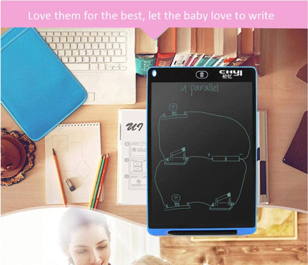 12 Inch Digital Drawing Notepad Smart Handwriting Epaper Pads Portable Graphic Board Toy for Kids-5 LCD Writing Tablet