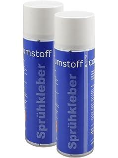 2 Dosen Spruhkleber A 500ml Dose Kraftiger Kleber Spraydose Mit Dosierventil Geruchsarm Und Transparent