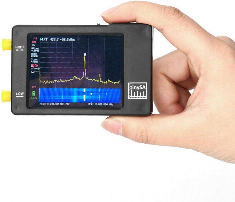 2,8 modos portátiles del control táctil del PDA del analizador del espectro compacto de la pantalla 2