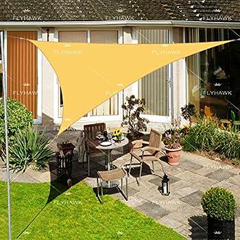 Amazon Com Fly Hawk Sun Shade Sail Triangle 12 X12 X12