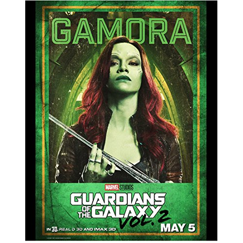 Zoe Saldana 8 Inch X 10 Inch Photograph Avatar Guardians Of