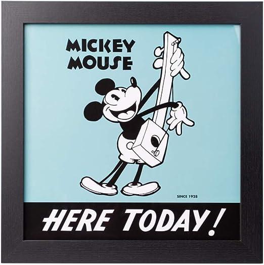 Grupo Erik PE30X30CM0019 Cuadro Infantil Disney Mickey 90, 30x30 ...
