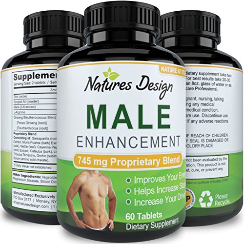 Natural Male Enhancement Supplement L Arginine product image