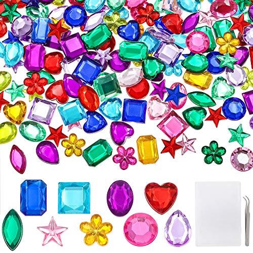 YIQIHAI 360pcs Craft Gems