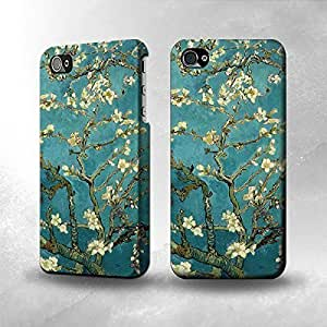 Apple iPhone 5 / 5S Case - The Best 3D Full Wrap iPhone Case - Blossoming Almond Tree Van Gogh